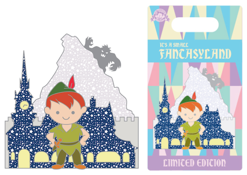 Peter Pan It's a Small Fantasyland Pin