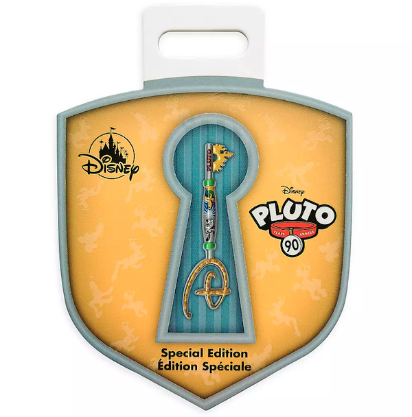 Pluto 90th Anniversary Key Pin