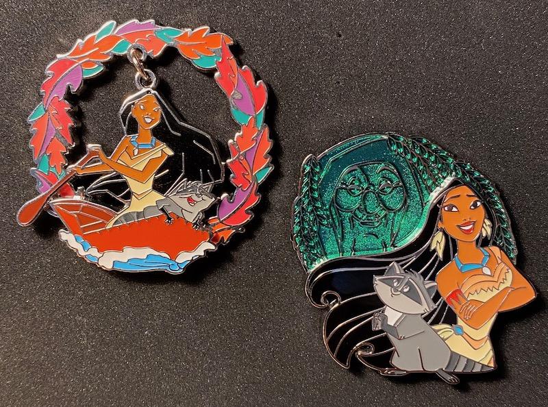 Pocahontas Recycled Metal Disney Pins at BoxLunch