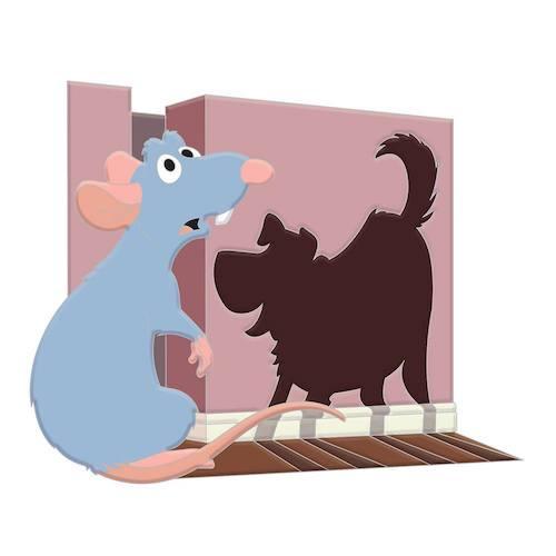 Ratatouille Pixar Character Cameos Pin