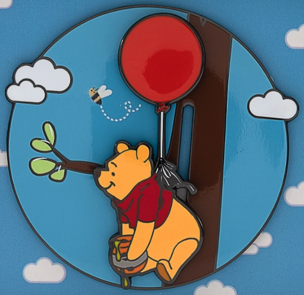Rumbly in my Tumbly Limited Edition Loungefly Pin
