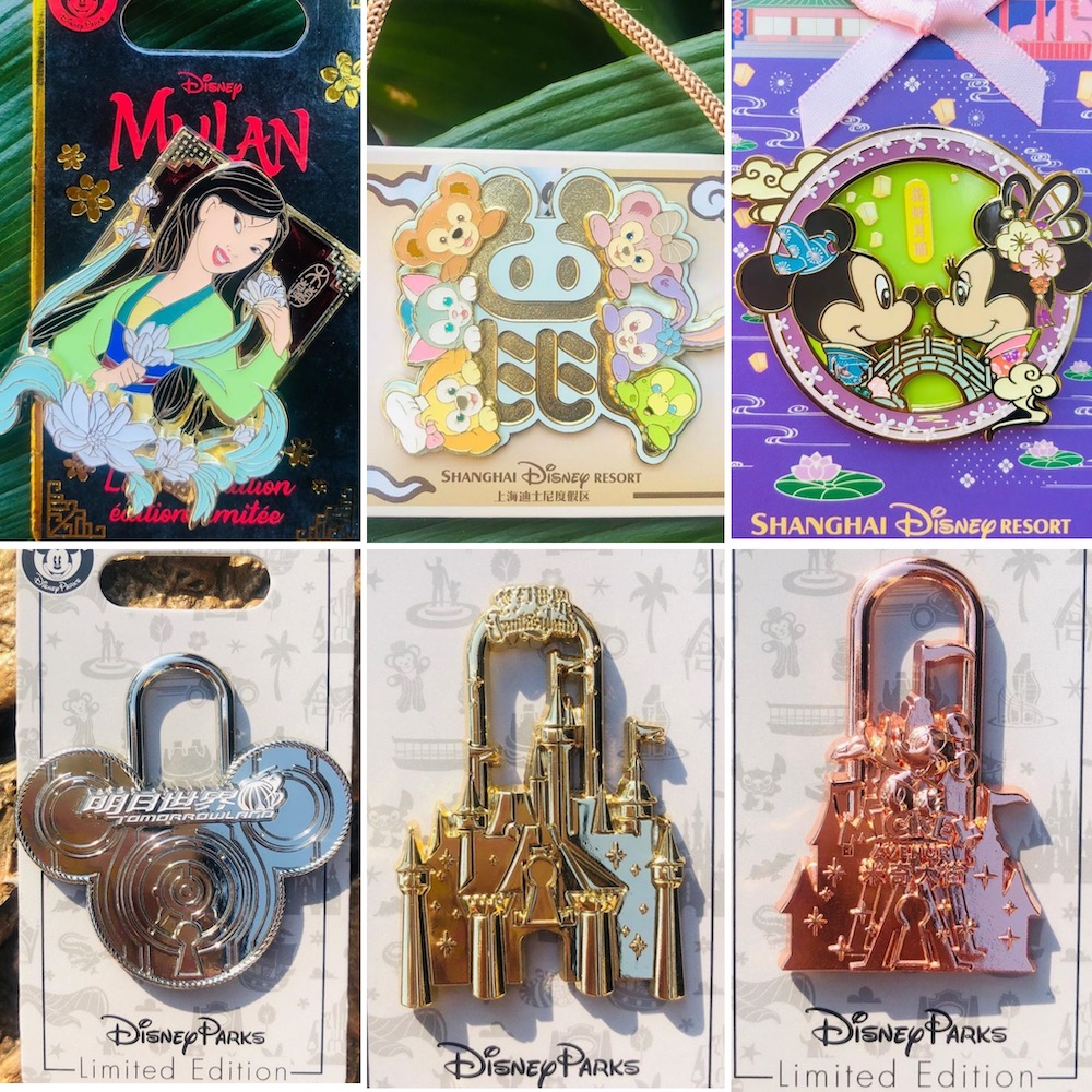 September 2020 Pin Releases at Shanghai Disney Resort
