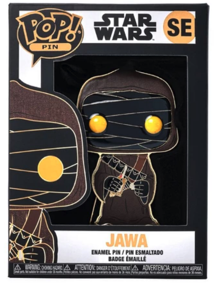 Star Wars Jawa Funko Pop! Jumbo Pin