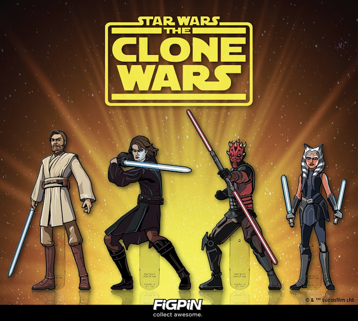 Star Wars The Clone Wars FiGPiNs Series 1