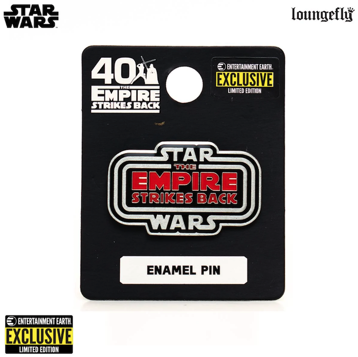 Star Wars The Empire Strikes Back 40th Anniversary Entertainment Earth Exclusive Pin