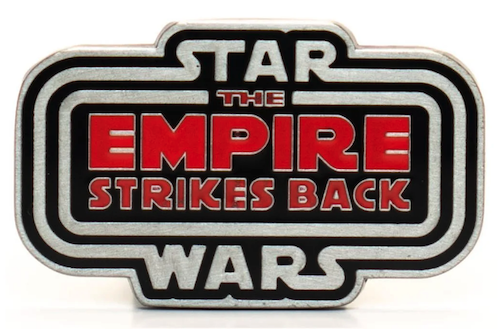 Star Wars The Empire Strikes Back 40th Anniversary Entertainment Earth Pin