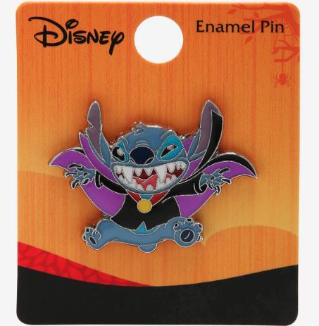 Stitch Vampire BoxLunch Disney Pin