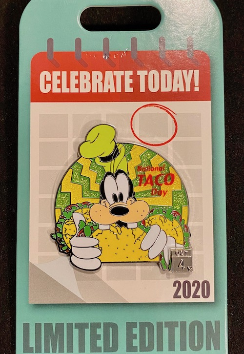 Taco Day - Celebrate Today Pin