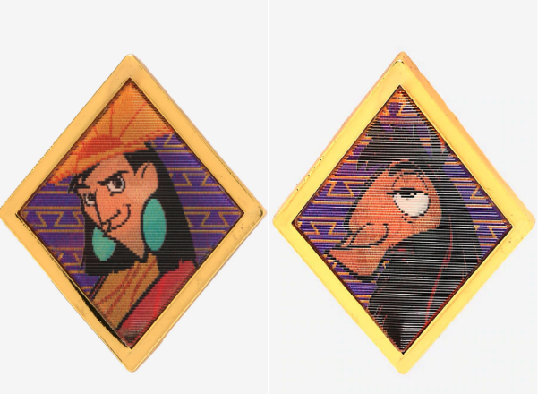 The Emperor's New Groove Llama Lenticular BoxLunch Disney Pin