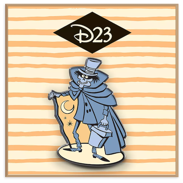 The Haunted Mansion Hatbox Ghost Halloween D23 Pin
