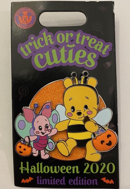 Trick or Treat Cuties - Pooh & Piglet Pin