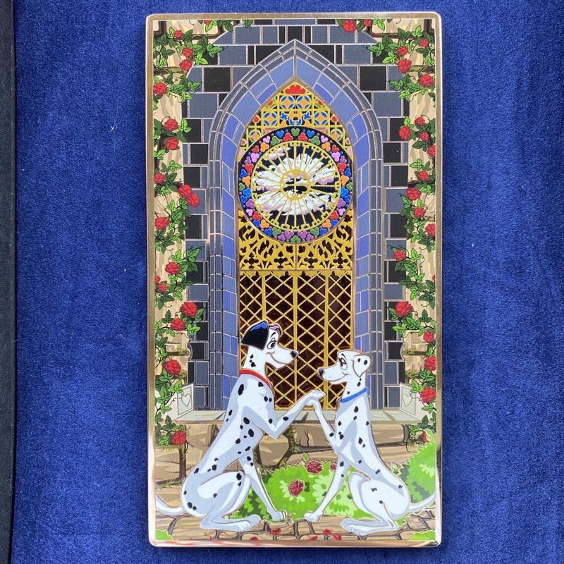 101 Dalmatians Jumbo LE 100 ArtLand Disney Pin