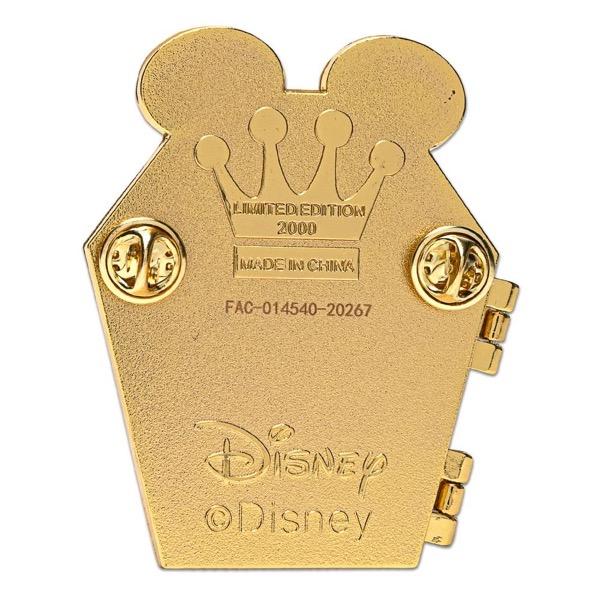 Back of Halloween 2020 Loungefly Disney Pin