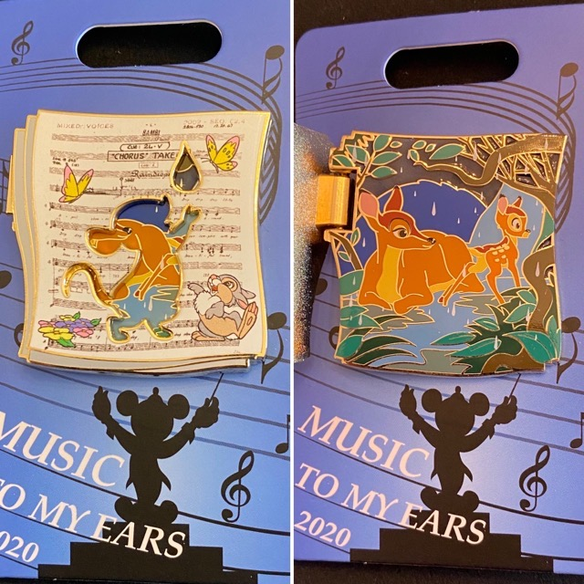 Bambi Music to my Ears 2020 Cast Member Pin