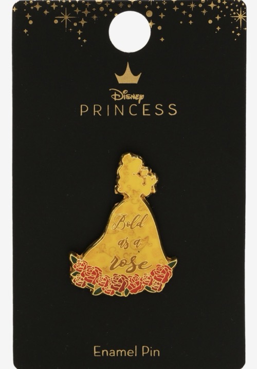 Belle Bold as a Rose BoxLunch Disney Pin