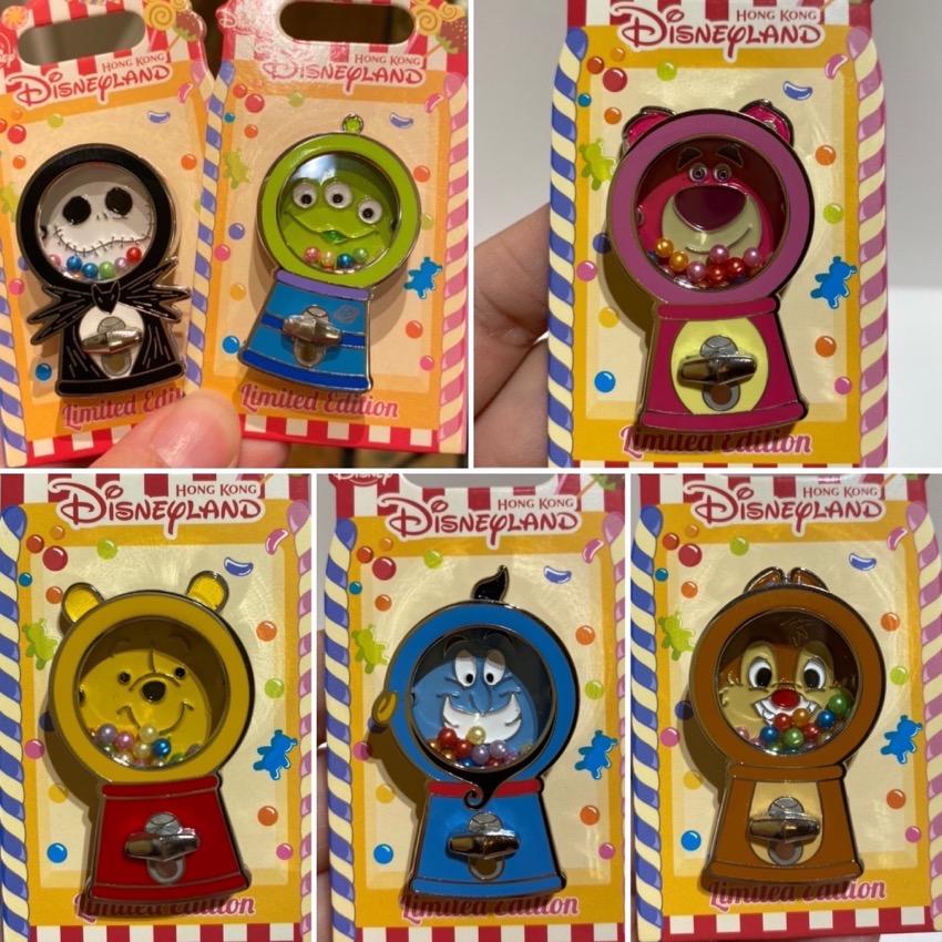 Candy Machine HKDL 2020 Pins