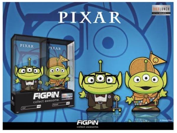 Carl & Russell Alien Remix FiGPiN BoxLunch Pins