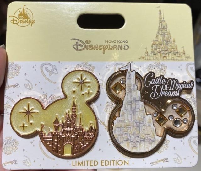 Castle of Magical Dreams LE 600 Disney Pin
