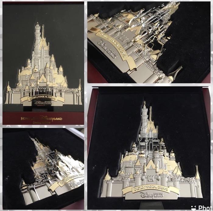 Castle of Magical Dreams Mega Jumbo Hong Kong Disneyland Pin
