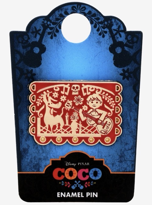 Coco Miguel & Dante Banner BoxLunch Pin