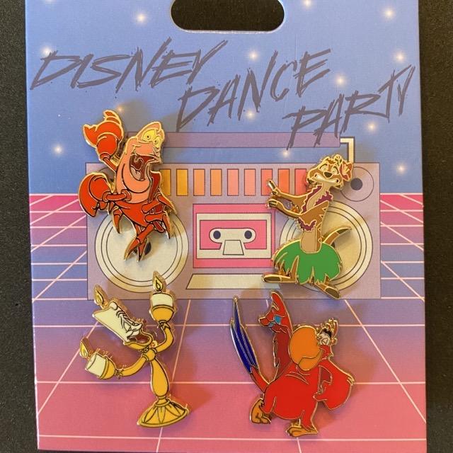 Disney Dance Party Pin Set