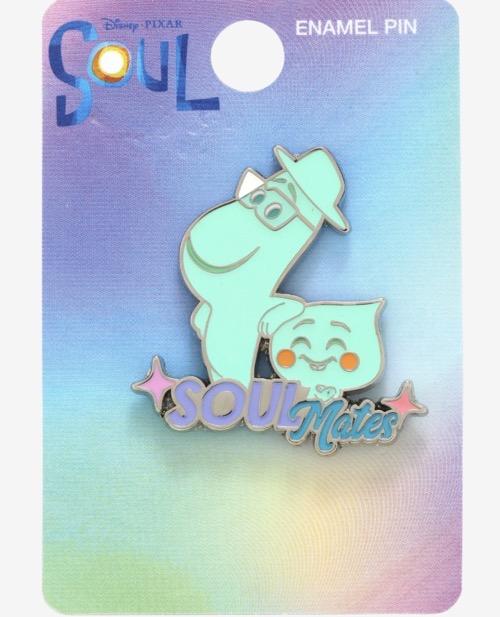Disney Pixar Soul Joe & 22 Hot Topic Pin