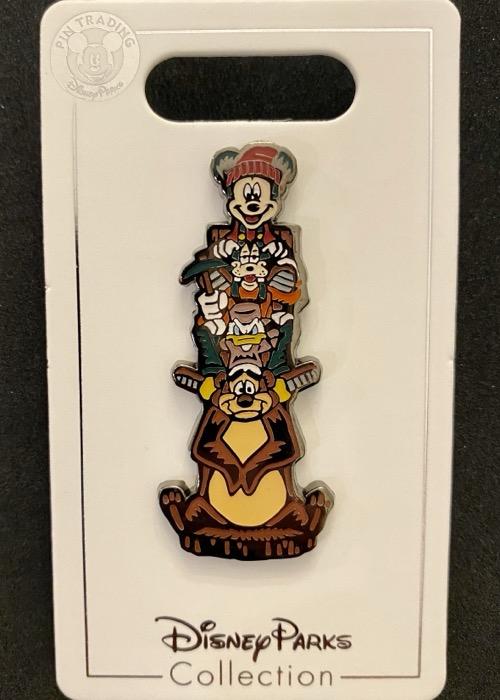 Disney's Wilderness Lodge Totem Pole Pin
