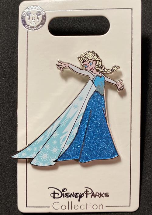 Elsa Glitter Dress Frozen 2 Disney Pin
