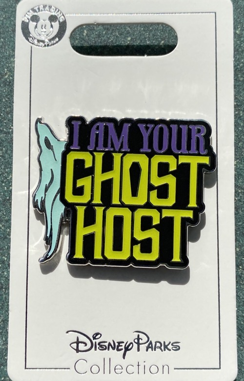 Ghost Host Haunted Mansion 2020 Disney Pin