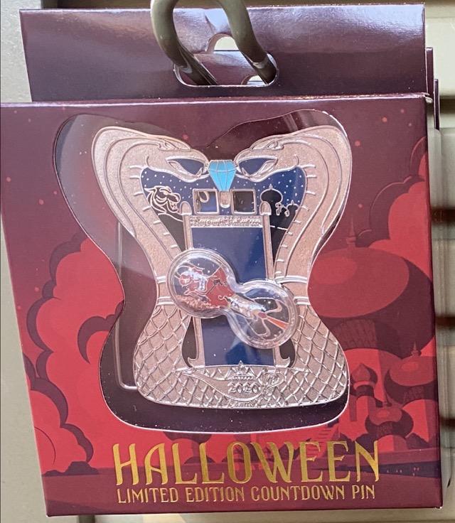 Halloween 2020 Countdown Disney Pin