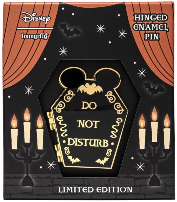 Halloween Mickey Mouse Limited Edition Loungefly Hinged Pin