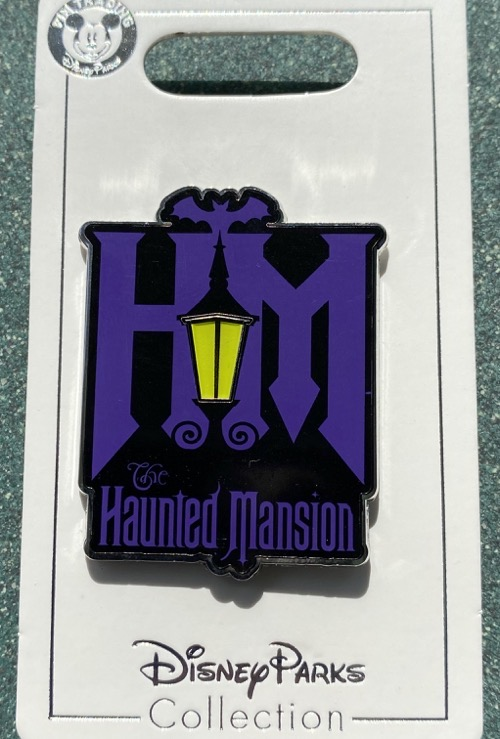 Haunted Mansion Logo 2020 Disney Pin