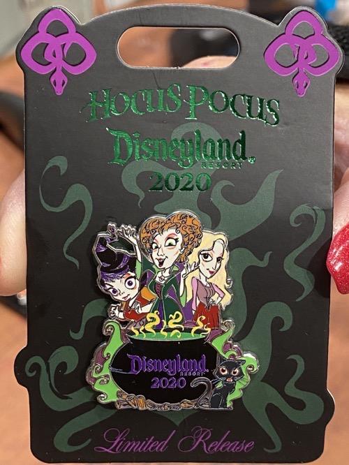 Hocus Pocus 2020 Disneyland Pin