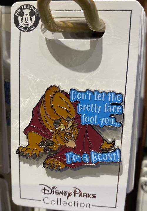 I'm a Beast Disney Pin