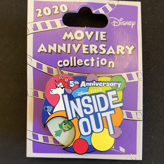 Inside Out 5th Anniversary Cast Member Pin