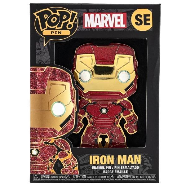 Iron Man 2020 Fall Virtual Con Funko Pop! Pin