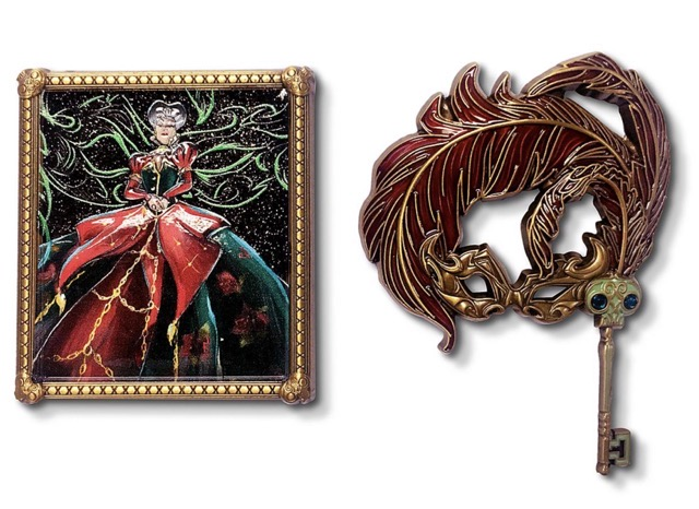 Lady Tremaine Disney Designer Collection Midnight Masquerade Pin Set