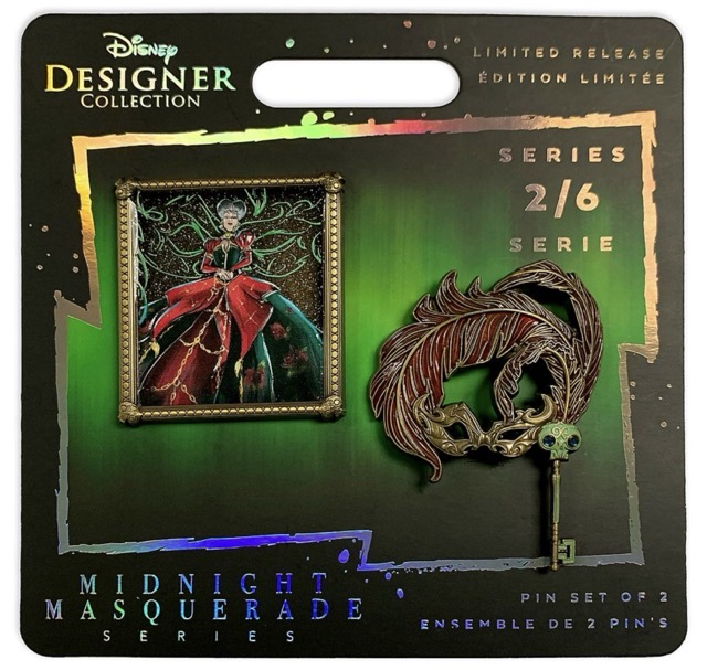 Lady Tremaine Midnight Masquerade Limited Release Pin Set