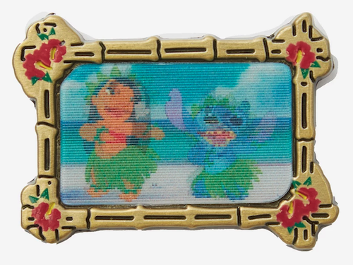 Lilo & Stitch Dance Lenticular Loungefly Disney Pin