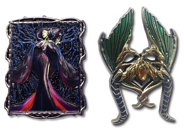 Maleficent Disney Designer Collection Midnight Masquerade Pin Set