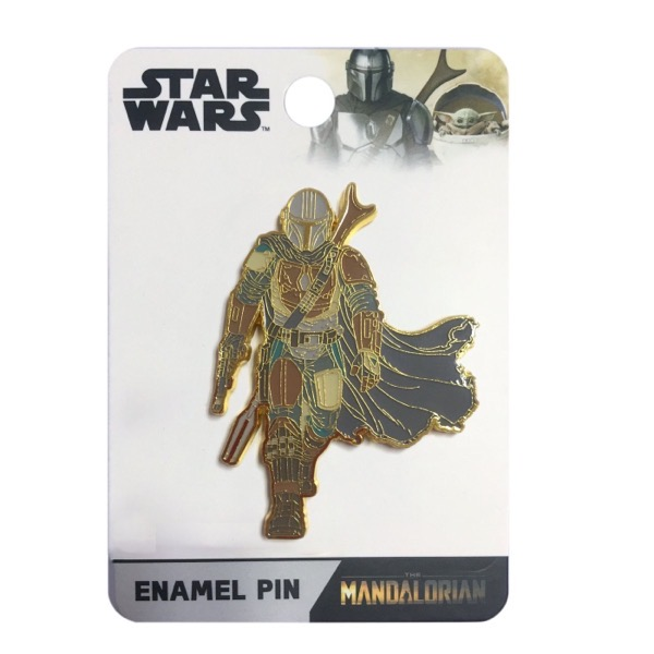 Mandalorian LE 600 Kraken Trade Disney Pin