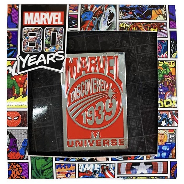 Marvel 80 Years Pin Badge A - Disney Store Japan