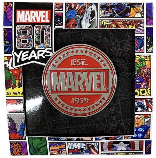 Marvel 80 Years Pin Badge B - Disney Store Japan