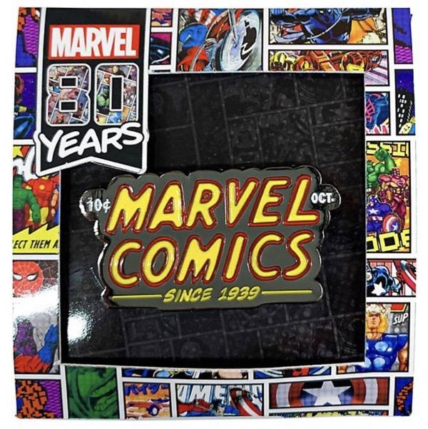 Marvel 80 Years Pin Badge C - Disney Store Japan