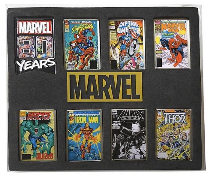 Marvel 80 Years Pin Set - Disney Store Japan
