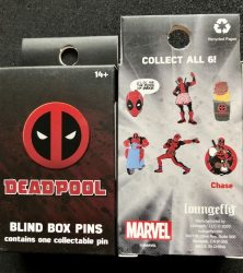 Marvel Deadpool Blind Box Pin Set