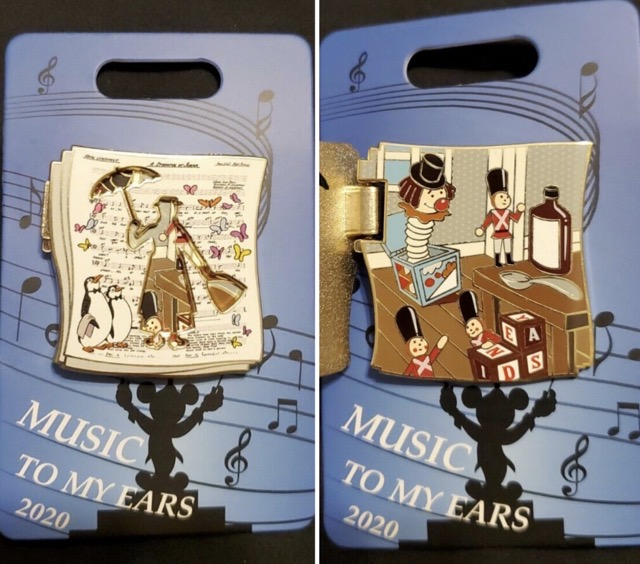 Mary Poppins Music to my Ears 2020 Cast Member Pin