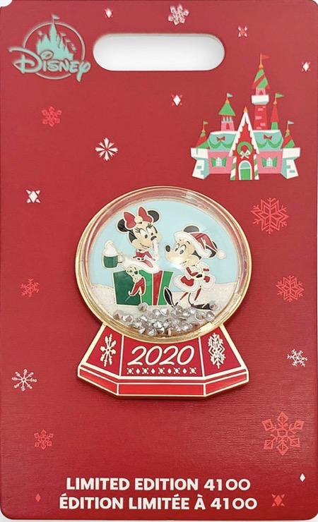 Mickey and Minnie Holiday 2020 shopDisney Pin   Disney Pins Blog