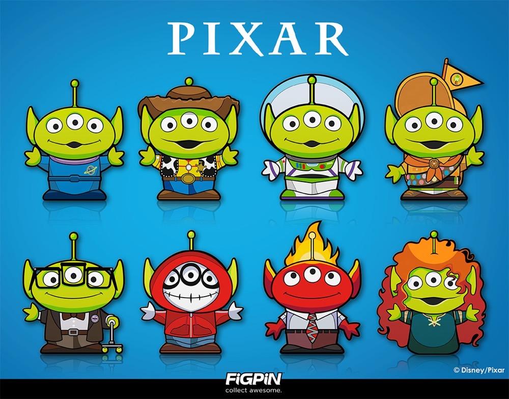 Pixar's Alien Remix Pins Arrive to the FiGPiN World