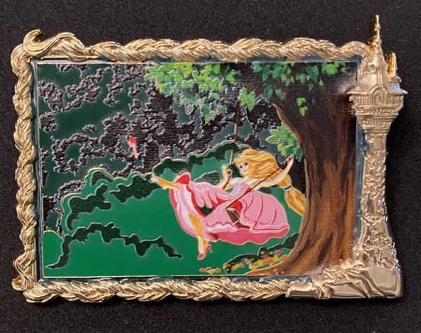 Rapunzel's The Swing ArtLand Pin